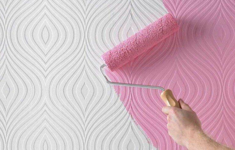 Зачем нужно клеить обои под покраску, если можно покрасить стены